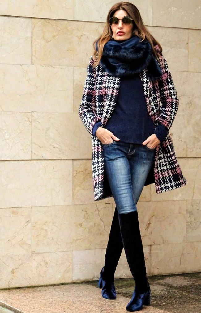 Fashion forward plaid pieces