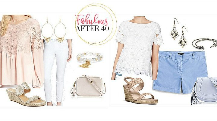 lace tops for women over 40