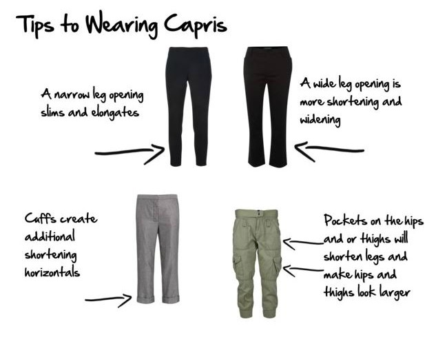 e898d370903d8b How to Wear Capri Pants and Cropped Trousers