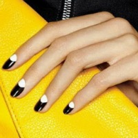 color block nail