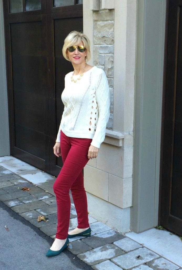 Skinny jeans for over 40