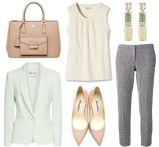 summer-business-attire-for-women pastels