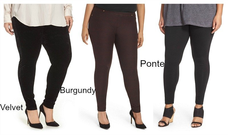 198f3bb947 Yes, Curvy Gals Can Wear Leggings Over 40! Here's How