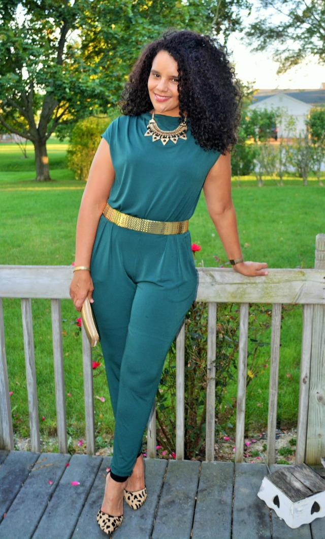 mary byrd green jumpsuit