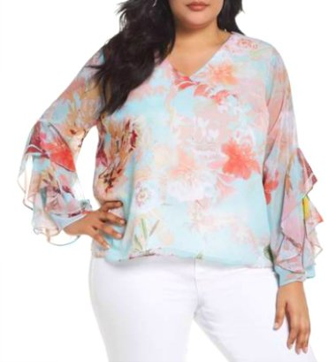 Plus Size Tops To Flatter A Curvy 40+ Figure –