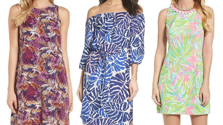 tropical print dresses for vacation