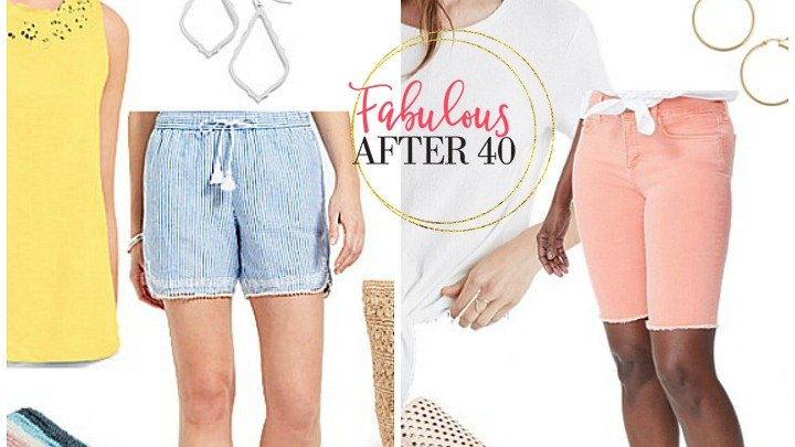 shorts for women over 40