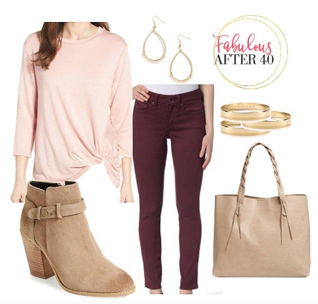 Burgundy How To Wear Falls Richest Color Fabulous After 40