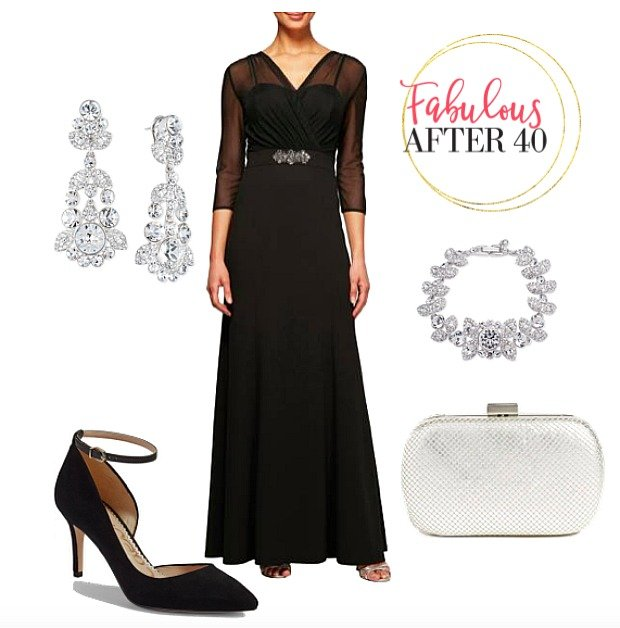 1d2d0ae67aa What to Wear to an Evening Wedding – Fabulous After 40