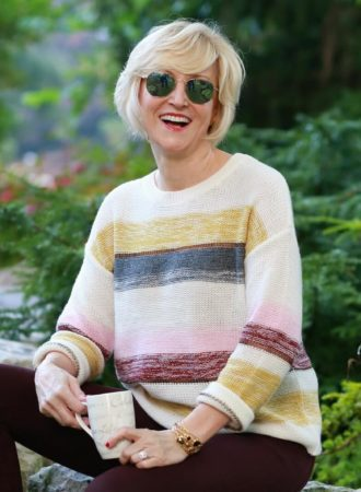 Deborah Boland striped Sweater
