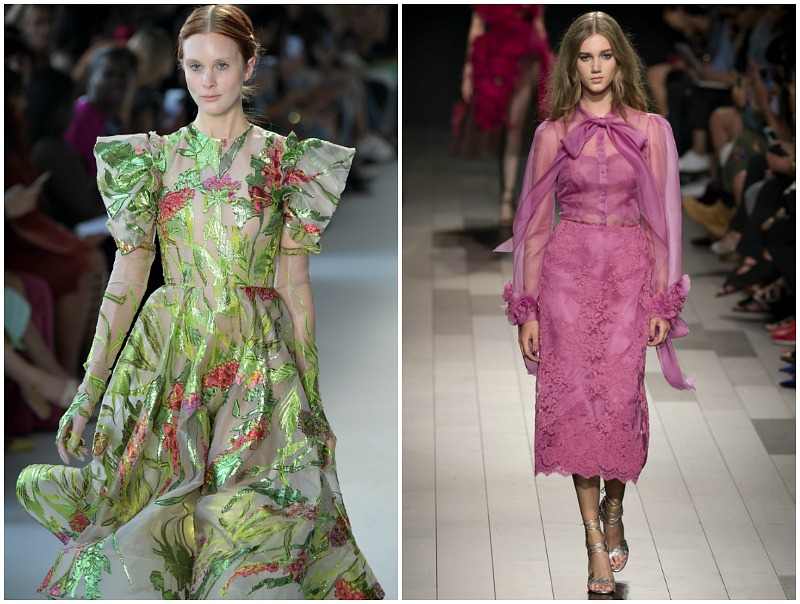 spring and summer 2018 fashion trends sheer layers
