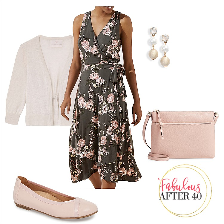 What to Wear in NYC - Floral Wrap Dress