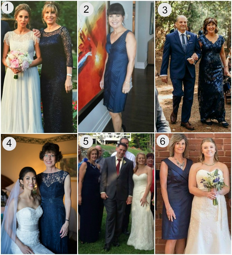 d6bb97a4 LOVELY IN LACE: For her daughter's wedding, Tami wore this Kay Unger  streamlined column gown. Intricate sequined embellishment gives the dress a  subtle ...