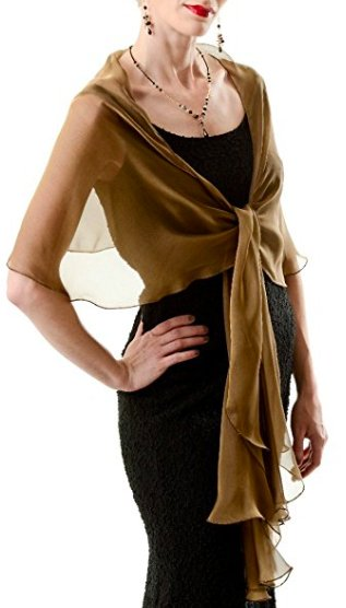 Evening women's wraps and shawls