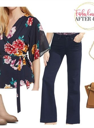 Fall Nord - Wide Leg Pants FLoral Top
