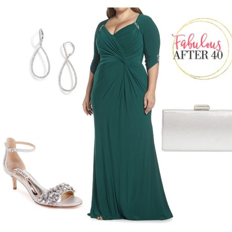 Elegant Plus Size Mother of the Bride Dresses for Fall & Winter