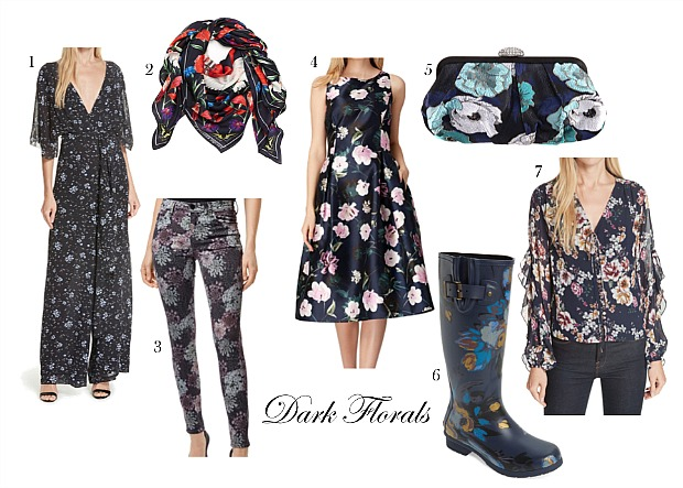 Fall Trends - Dark Florals