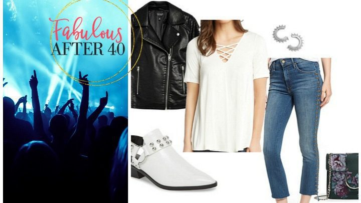 What to wear to a rock concert over 40 or 50