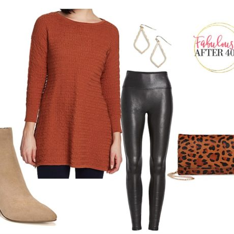 Best Long Tops to Wear With Leggings: 5 Outfits!