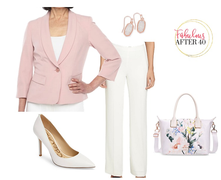Mother of the Grad pants - Pink Blazer