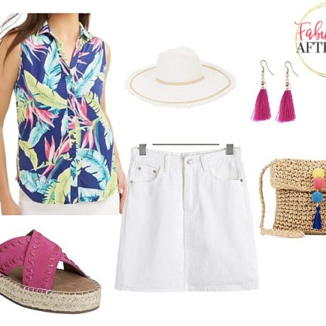 Budget Friendly Tropical Print Tops