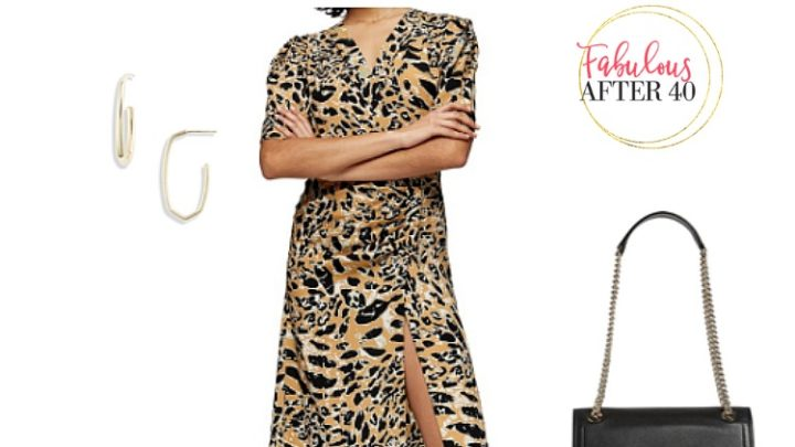 NSALE Leopard Dress
