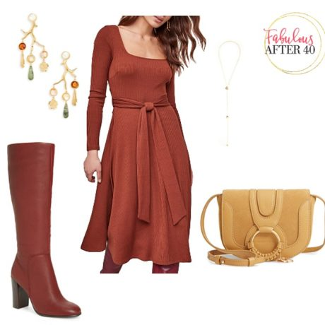 Fall 2019 Color Trends: Rust Dresses are Here!
