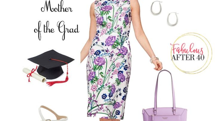 Mother of the Graduate - Floral Dress