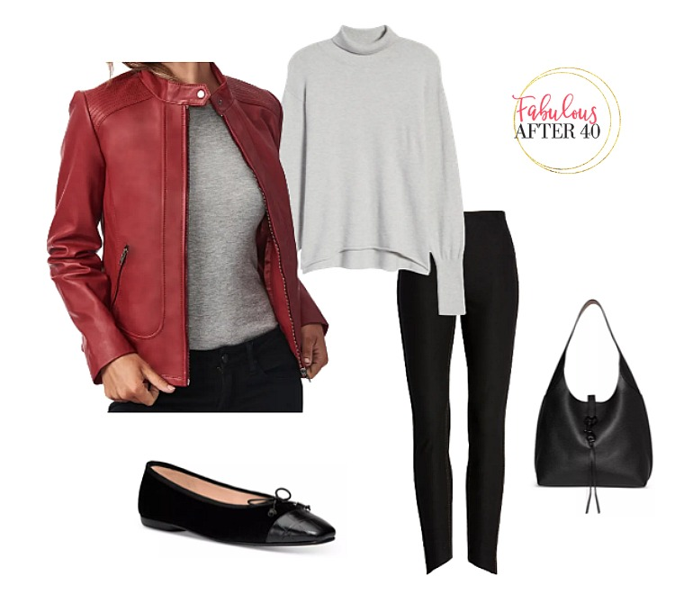 Leather Jackets - Red