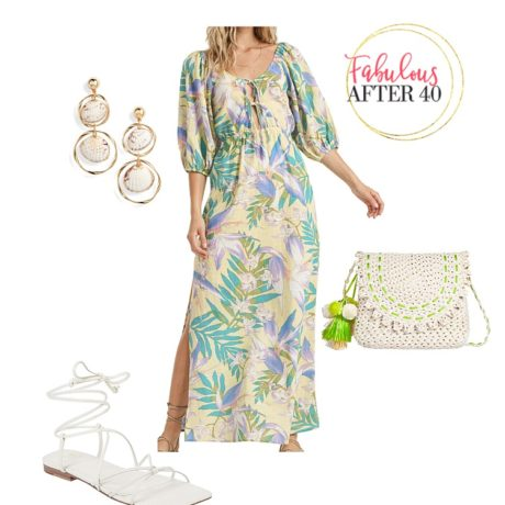 How to Style a Beach Maxi Dress