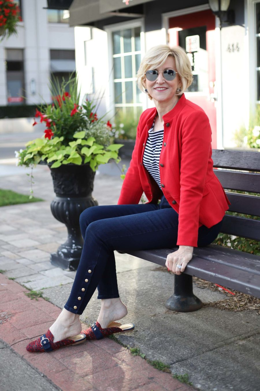 Red Band Jacket jeggings